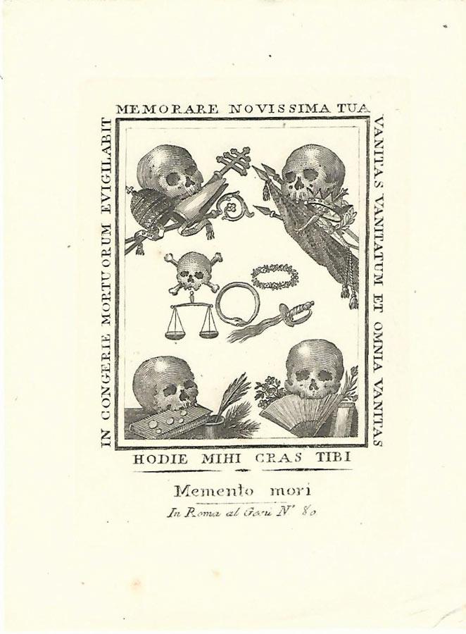 Storia Grammaroli - Morire nel 1850